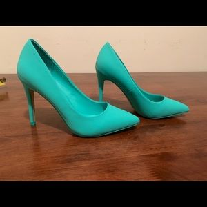 Women's Teal/Aqua Heels